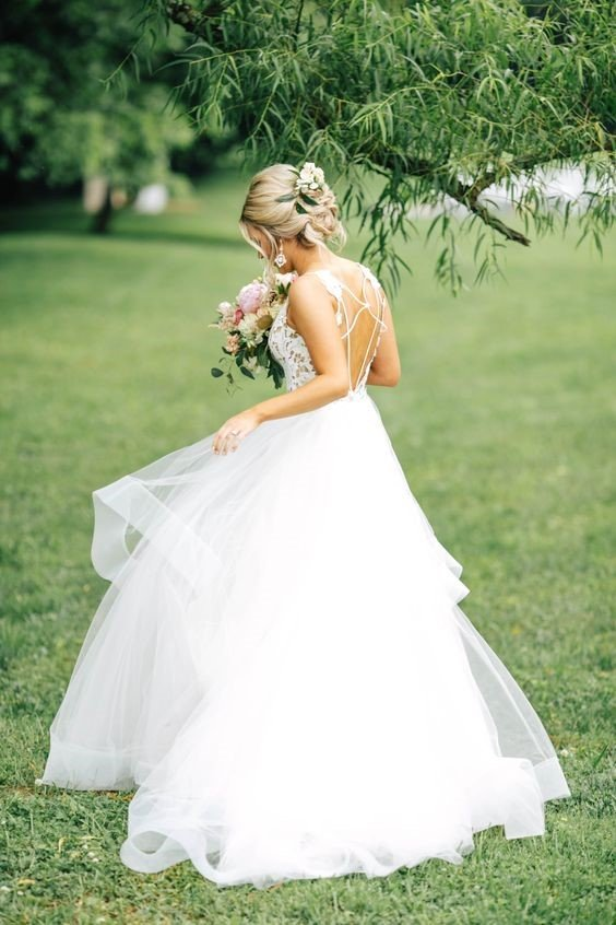 Blush by Hayley Paige Style Halo Gown